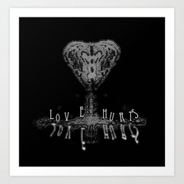 Love Therapy: Reflections - A celebration of life itself Art Print