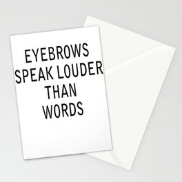 louder Stationery Cards