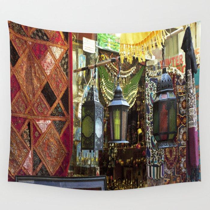 Arabian Lanterns 2! Wall Tapestry