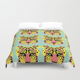 Modular Cheetah Duvet Cover