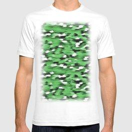 Green Leopard Pattern T-shirt