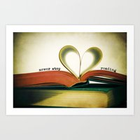 read Art Prints featuring Read by Lawson Images