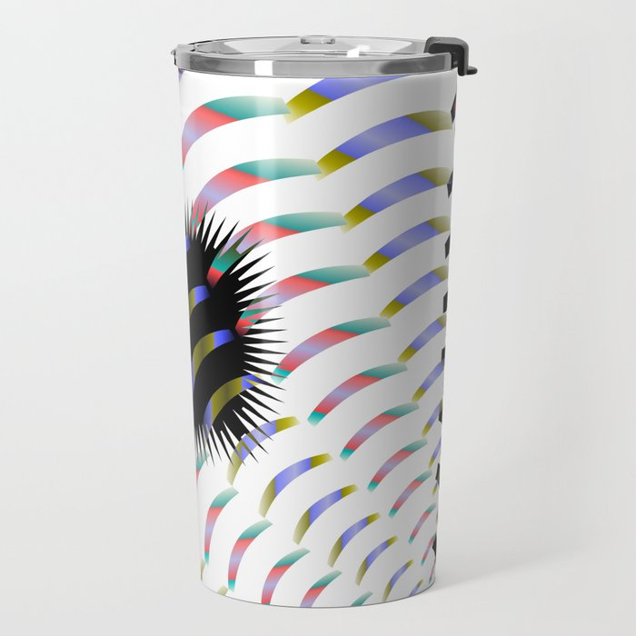 Ambiguous Abstraction, 2370f Travel Mug