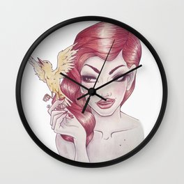 Little Birdie (Rule 2) Wall Clock