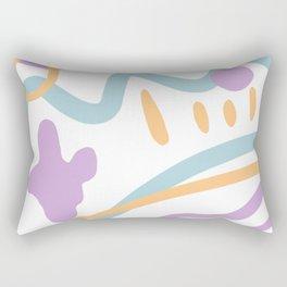 Path to Puddy Rectangular Pillow