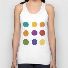 Color Dots Unisex Tank Top
