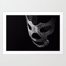 El Luchador - The Wrestler Art Print
