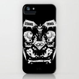 Ghouls, Ghosts, Gems & Daggers iPhone Case