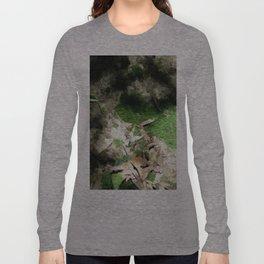 Mossy Green Ground Moss Long Sleeve T-shirt