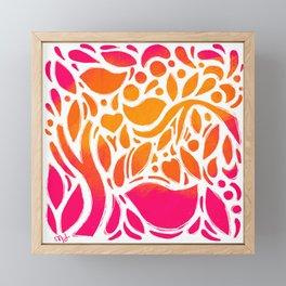 Sunshine Garden Framed Mini Art Print