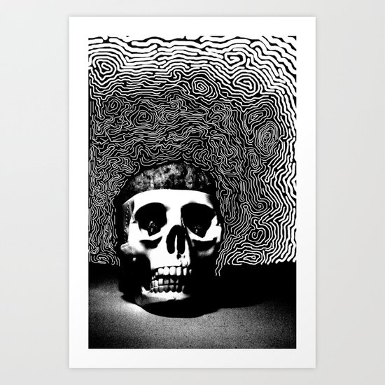 caveira Art Print