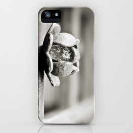 Fence B/W iPhone Case