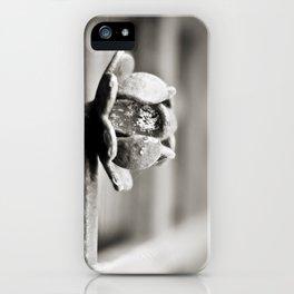 Fence B/W iPhone Case