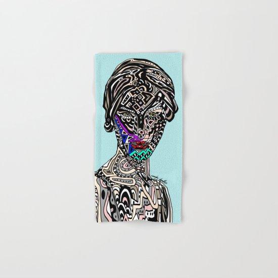 Millenium Space Goddess Hand & Bath Towel