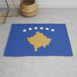 Flag of Kosovo Rug