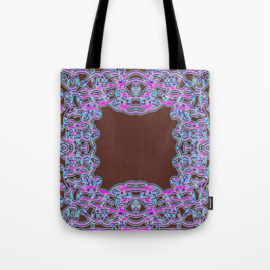 In The Pink Colorfoil Bandanna Tote Bag
