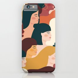 I'm a women - Girl Power- Squad Goals iPhone Case