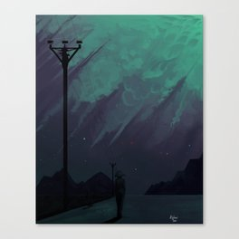 Sensitive Canvas Print