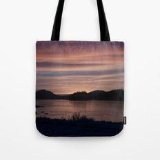 Frozen Sunset 4 - Pale Light Tote Bag