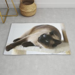 Sulley, A Siamese Cat Rug