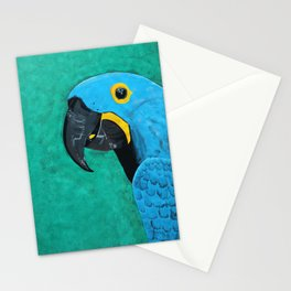 Hyacinth Macaw Gouache Painting Stationery Cards