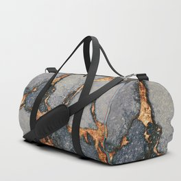 GEMSTONE GREY & GOLD Duffle Bag
