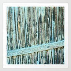 Abstract Wood Art Print