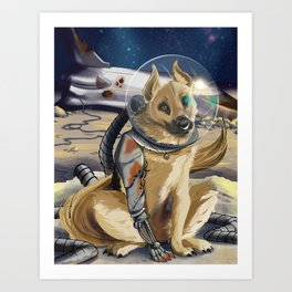 Special Space Cadet Art Print