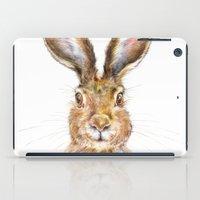 hare iPad Cases featuring HARE by Patrizia Ambrosini