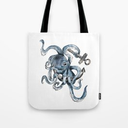 Seven Paw Octopus Tote Bag