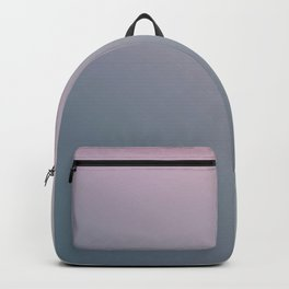 WATER WALL - Minimal Plain Soft Mood Color Blend Prints Backpack