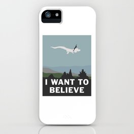 I Want to Believe (in Falkor) iPhone Case