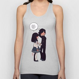 Sorry I only Date 2D Boys Unisex Tank Top