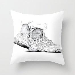 YEEZY500 Throw Pillow