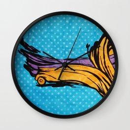 O'Prime abstra car Wall Clock