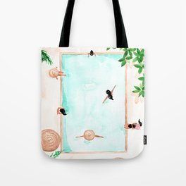 Pool Day Tote Bag