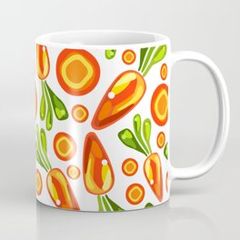 carrot pattern Coffee Mug