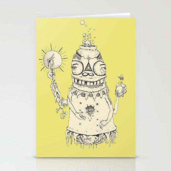 High Mr Meatbell Stationery Cards