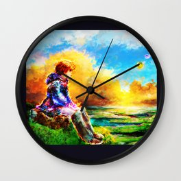 Nausicaa of the Valley of the Wind Wall Clock