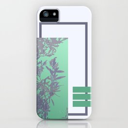 Violet Foliage #society6 #spring iPhone Case