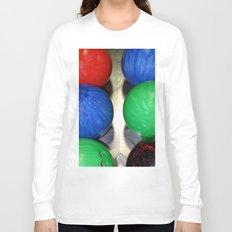 Bowling Balls Long Sleeve T-shirt