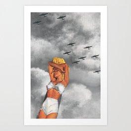 War L'Amour Art Print