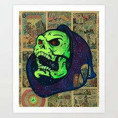 Skeletor Art Print