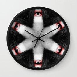 Kaleidoscopic Me Wall Clock