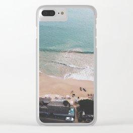 Aerial Mirissa Beach, Sri Lanka Clear iPhone Case