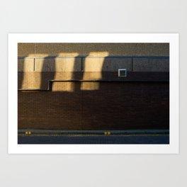 Surface Tension: Grosvenor Lane, Glasgow Art Print