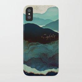 Indigo Mountains iPhone Case