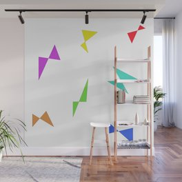 Simple butterfly Wall Mural