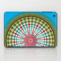health iPad Cases featuring Health Mandala - מנדלה בריאות by dotan yiloz