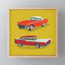 Classic Cars Framed Mini Art Print